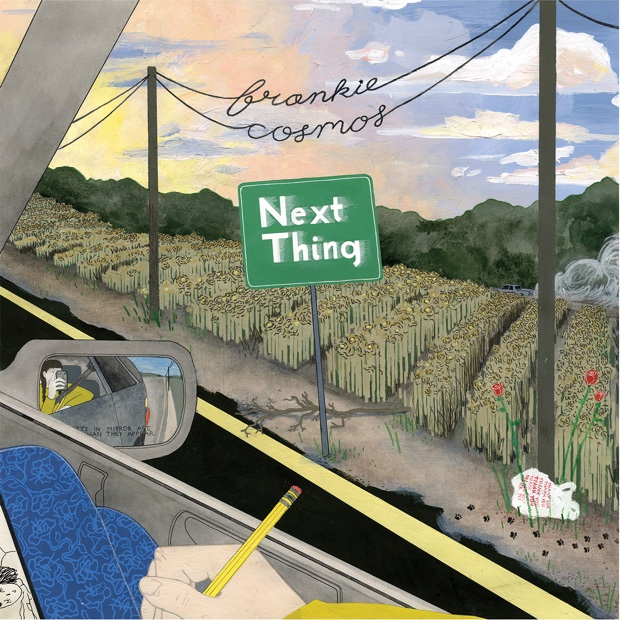 Image result for frankie cosmos next thing orange