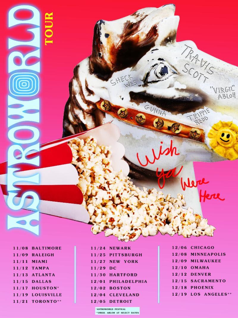 Travis Scott Announces North American Tour Dates Music News Tiny