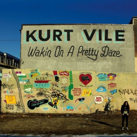 Kurt Vile erodes the fuck out of some present participles on new LP, Wakin on a Pretty Daze, because he's just that chill!