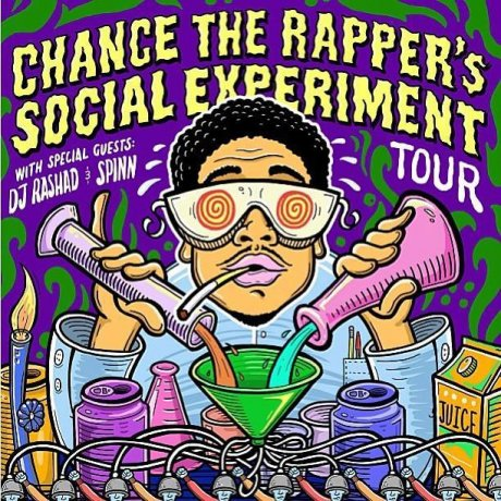 Chance the Rapper announces tour with DJ Rashad and DJ Spinn so you can work your feet while also working your heart