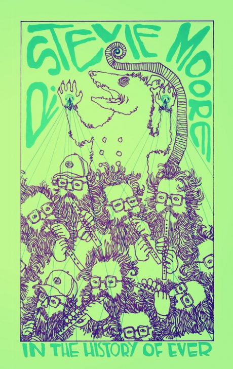 R. Stevie Moore releases new cassette on new label Oma333, premieres