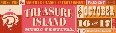 Is that buried treasure or just Broken Social Scene? Treasure Island festival anounces lineup