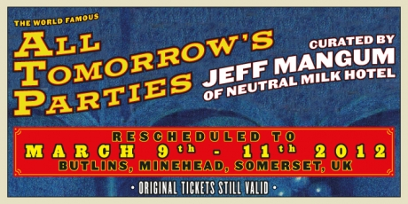 Jeff Mangum's ATP rescheduled to Ma