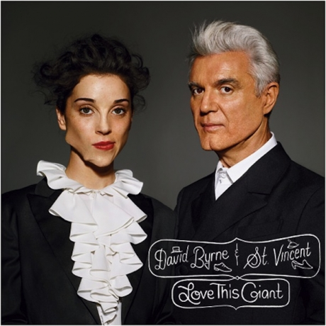 David Byrne and St. Vincent to release Love This Giant in September; can someone tell me what's with the album cover?