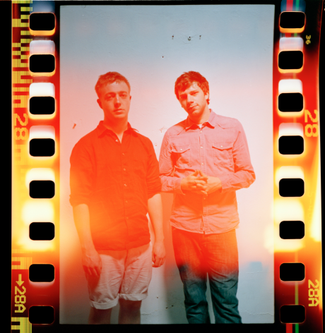 Mount Kimbie sign to Warp Records, any day now they'll be riding bikes, going on d