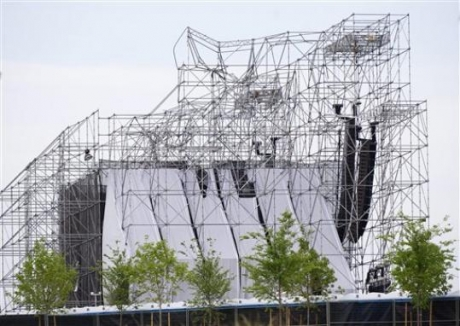 Stage collapse prior to Radiohead concert in Toronto leaves one dead and three injured