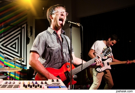 The Dismemberment Plan just played eight new songs live! Meanwhile, thousands of fans everywhere just forgot eight old Dismemberment Plan songs.