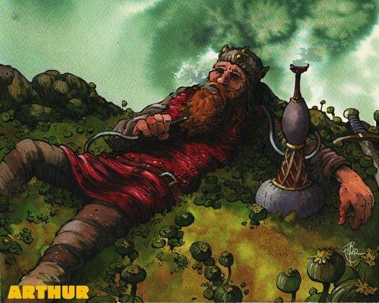 Arise ye freaks! Arthur magazine rises from its resting place!