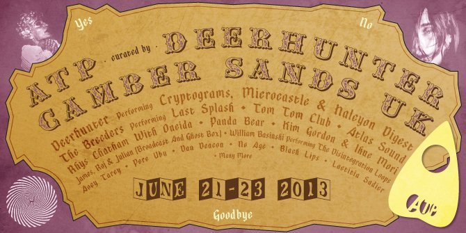 Rhys Chatham, William Basinski, Oneida, and more added to Deerhunter-curated ATP lineup
