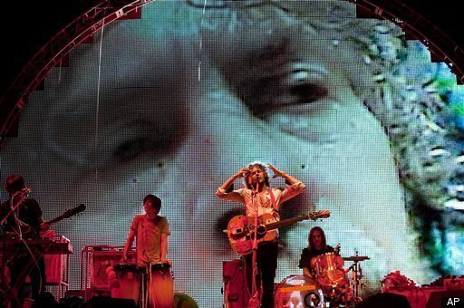 The Flaming Lips sharing tourdates with The Black Keys; why that's hotter than a bag of Flamin' Hot Cheetos with Lime!®
