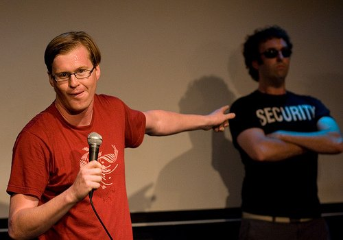 Kill Rock Stars runs the laughter gauntlet, signs Kurt Braunohler for his first stand-up LP