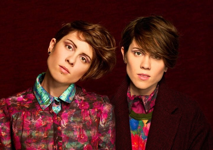 Tegan and Sara tour; college bro renounces his misogyny