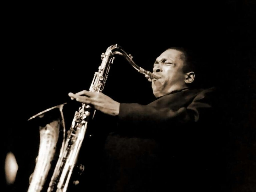 One of John Coltrane's saxophones is up for auction; eventual owner needs to look into viability of cloning from saliva