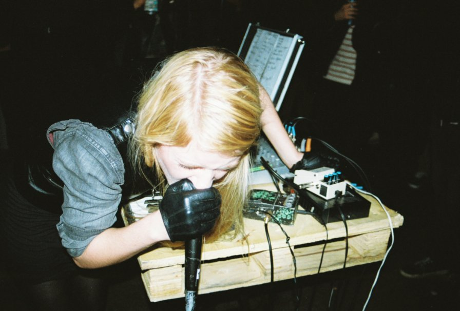 Pharmakon and Sacred Bones team up to bring fear, pain, and suffering to your ears on Abandon, because you deserve it