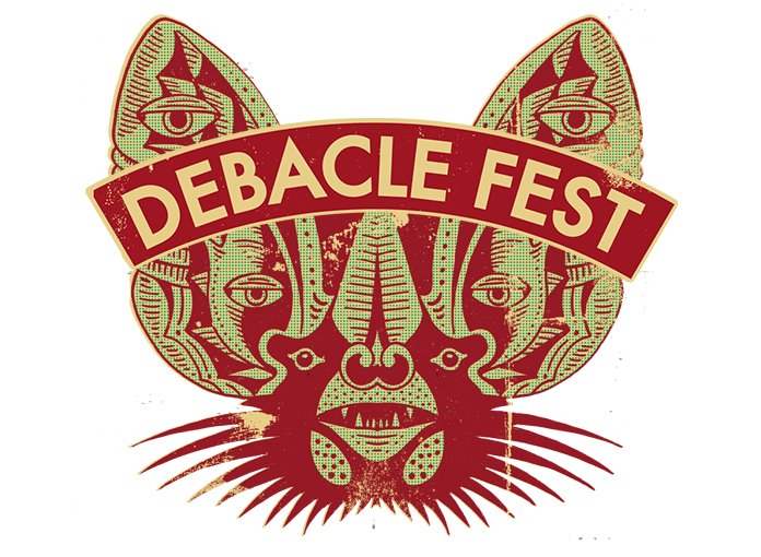 "Debacle Records hosts 2013 festival featuring John Wiese, Nate Young, Monopoly Child Star Searchers, Panabrite; music writers scramble to whatever the plural of ""thesaurus"" is in search of jokes"