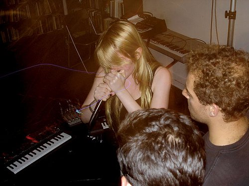 "Pharmakon tours with Swans, offers new track ""Ache"" for streaming. Is it ""super poppy""? Click to find out!"