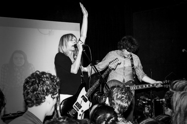 Kim Gordon and Bill Nace prep Body/Head tour and album on Matador; Kim Gordon does some art, too