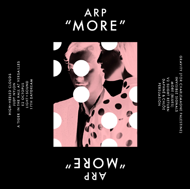 Arp announces MORE LP; is it still cool to reference that Will Ferrell SNL skit?