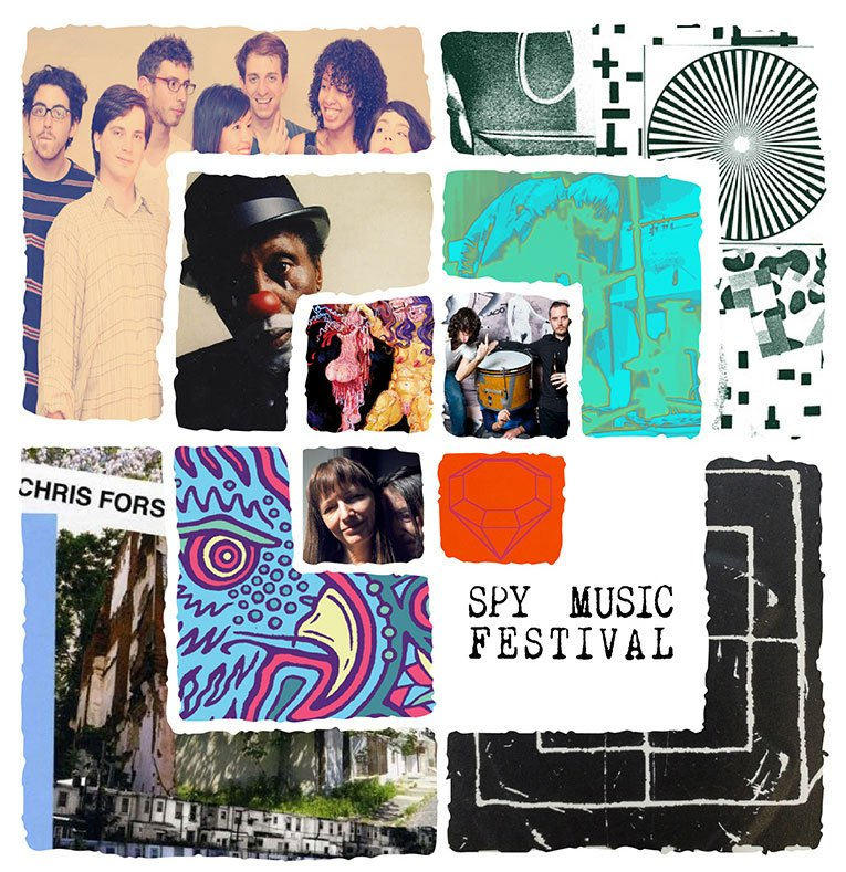 Northern Spy presents third annual Spy Music Festival featuring Loren Connors, Thurston Moore, Charles Gayle, Diamond Terrifier, and more!