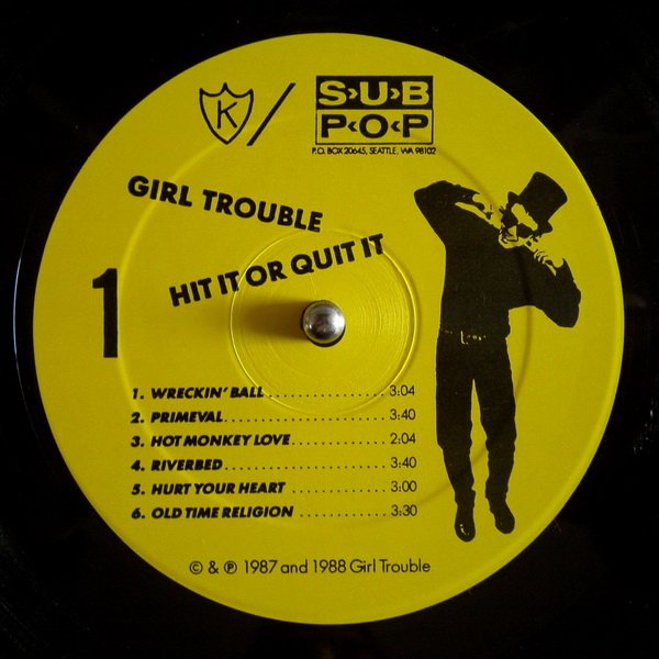 K reissues Girl Trouble's 1988 debut LP; collectors of reissued late 80s LPs everywhere rejoice