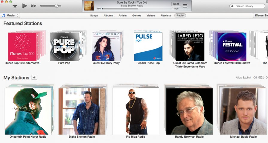 iTunes 11.1 brings iTunes Radio, Genius Shuffle, Podcast Stations; 11.2 will bring auto remix generator and the robot apocalypse