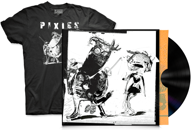 Pixies drop new four-track EP, available now on band's mildly enhanced web destination