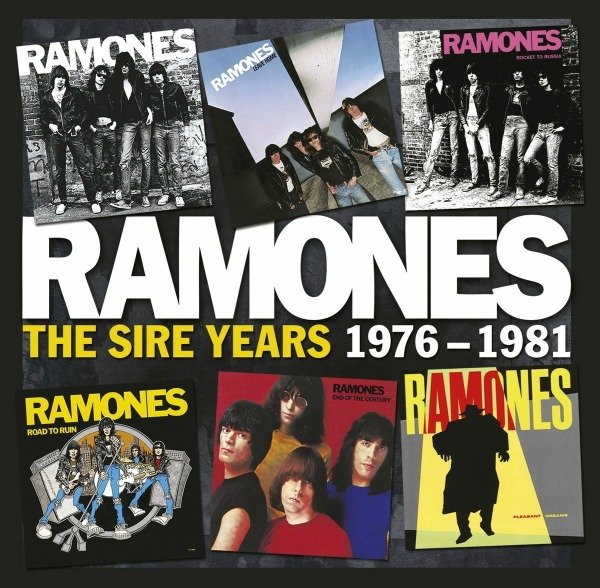 Ramones box set comprising their first six albums is coming this month to save punk rock for the fifth time!