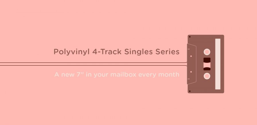 Polyvinyl plans 7-inch subscription series with Cloud Nothings, Mikal Cronin, more; all songs recorded onto the same Tascam 4-track