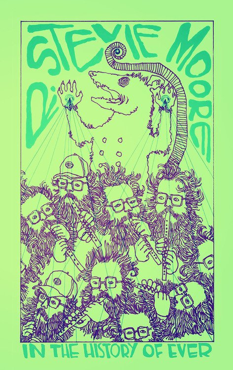 """R. Stevie Moore releases new cassette on new label Oma333, premieres video for """"I'm Dancing,"""" answers our questions!"""