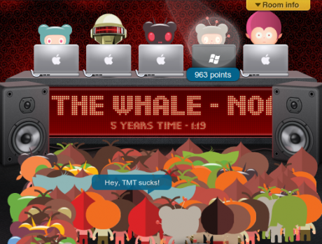 Turntable.fm shutting down because online avatar DJ parties are kind of sad