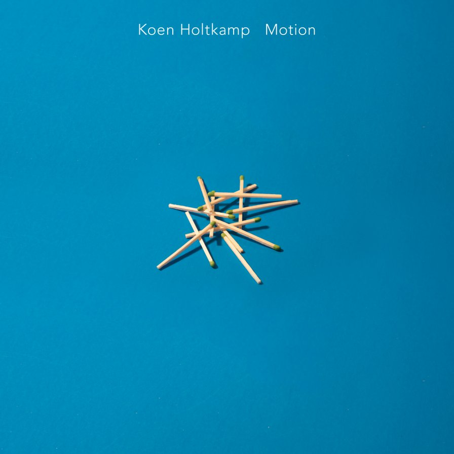 Koen Holtkamp specifies his favorite aspect of physics class, announces new full-length Motion + Connected Works compilation