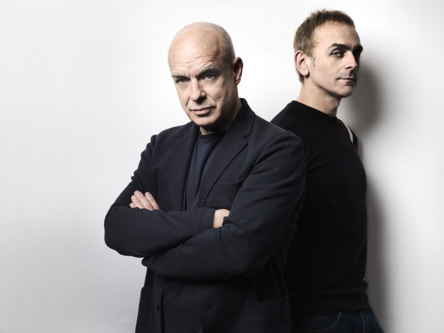 Brian Eno releasing new collaborative album Someday World with Karl Hyde, out on Warp in May