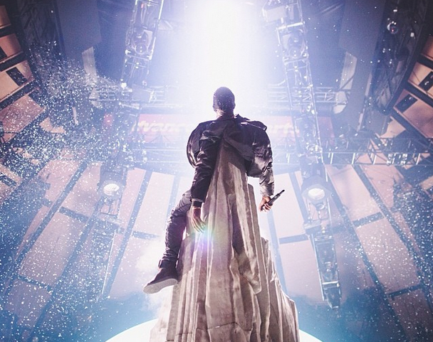 "Kanye West plots new tour dates in Europe, where the word ""zeitgeist"" was invented!"