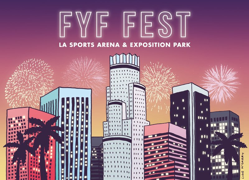 FYF Fest shows off a sassy new summer look with new location and lineup featuring Slowdive, Flying Lotus, Grimes and more