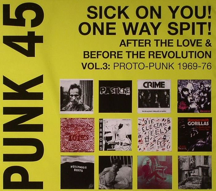 Soul Jazz focuses on 1969-77 proto-punk for third Punk 45