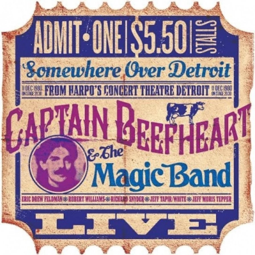 """Gonzo Records releases a Captain Beefheart 1980s bootleg, lets us hear him right before he got """"too good"""" and had to quit"""