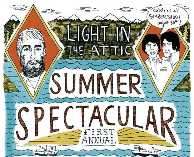 Light in the Attic throws a summer party better than any of your parties because yours never had Donnie & Joe Emerson!