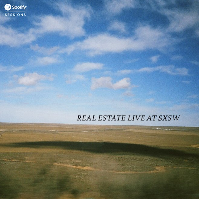 Real Estate expand tour, share Live at SXSW session like total gentlemen