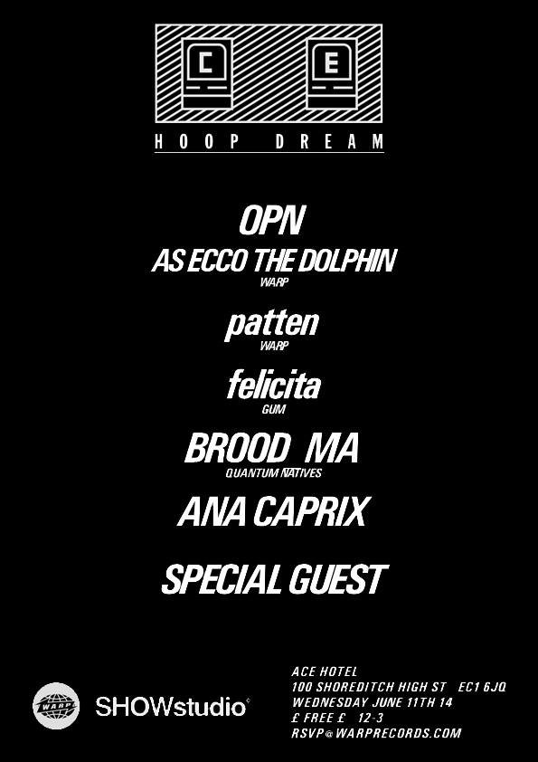 Oneohtrix Point Never to perform ECCOJAMS tonight in London alongside patten and felicita, 30 new internet micro-genres to follow closely thereafter