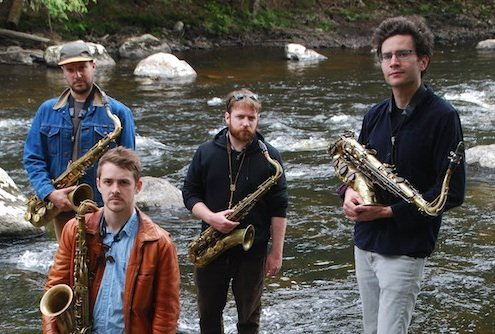 NNA and New Amsterdam release debut album from tenor sax quartet Battle Trance