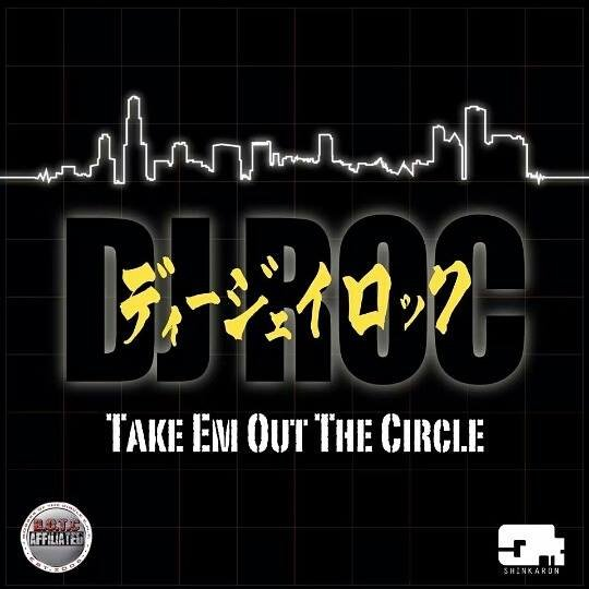 Footwork producer DJ Roc to show em' how it's done overseas, dropping new LP TAKE EM' OUT THE CIRCLE on Shinkaron