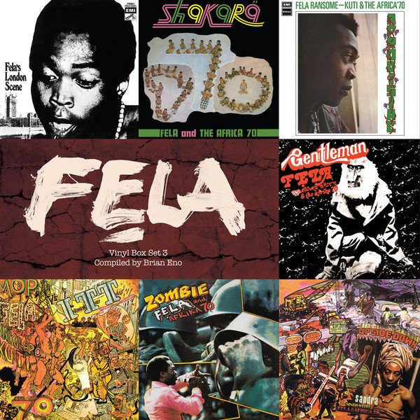 New Fela Kuti compilation to be curated by Brian Eno, England's official ambassador of Afrobeat