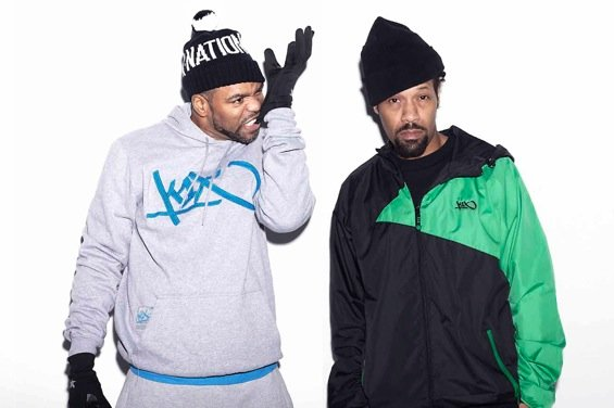 "Method Man and Redman announced as headliners of ""The Smokers Club Tour,"" cuz that's a club that really exists!"