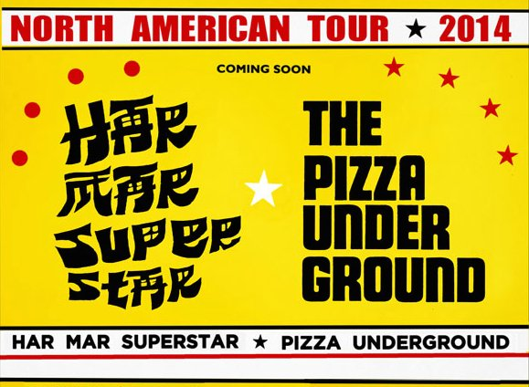 No, you're not dreaming: Har Mar Superstar and The Pizza Underground are touring together this fall