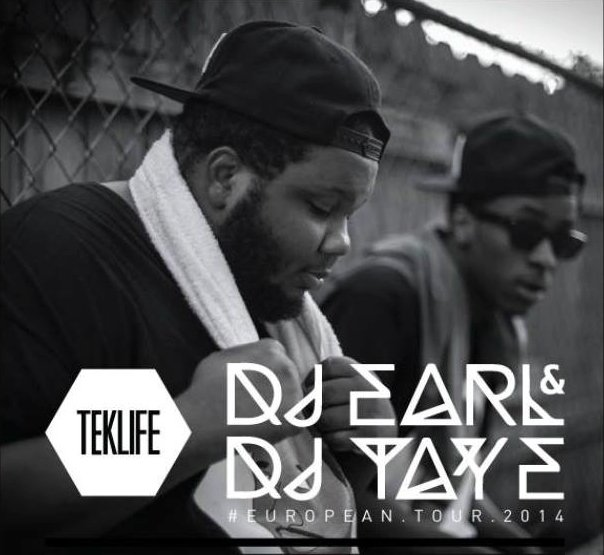DJ Earl and DJ Taye tour Europe in hopes of spreading the good word of Teklife