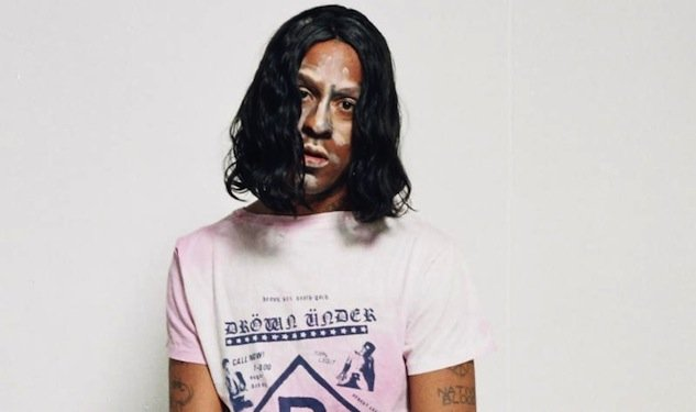 Mykki Blanco expounds on Gay Dog Food, featuring Kathleen Hanna, Cities Aviv, and Gobby in the corner office