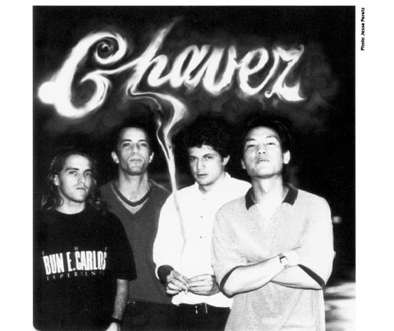 Matador to reissue both Chavez records on vinyl; you slowly realize Matt Sweeney has played on every single album you own