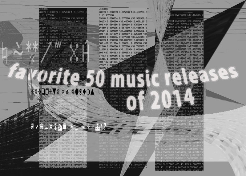 2014 Favorite 50 Music Releases Of 2014 Staff Feature Tiny Mix