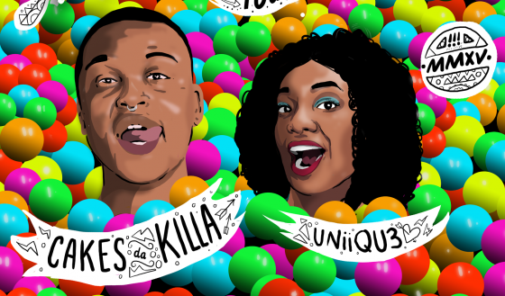 Cakes Da Killa and UNiiQU3 team up for tour, remix, remain so lit that quitting is impossible