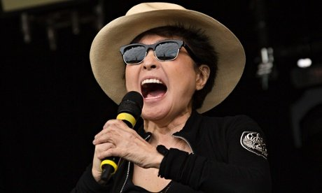 Octogenarian Yoko Ono will soon have two more 2015 releases than your band
